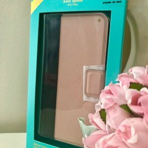 🎀 Kate Spade ♠️ IPhone X/S MAX Colorblock Case